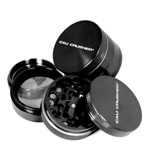 Cali Crusher Herb Grinder 4 Piece Silver