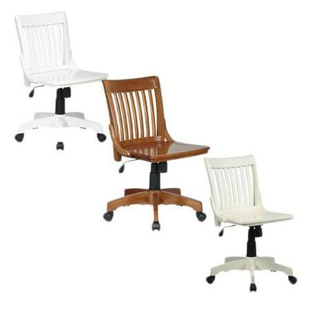 OSP Home Furnishings Copper Grove Hakai Wooden Bankers Chair