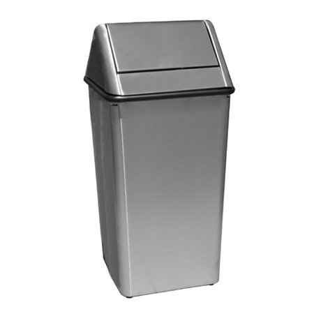 - Witt Waste Watchers Receptacle 36 Gallon Swing Top Trash Can