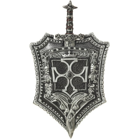 CRUSADER SWORD & SHIELD 18in Halloween Costume Accessory](Costume Shield)