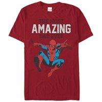 Marvel Spider-Man Amazing Dad Mens Graphic T Shirt