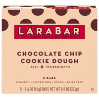 LARABAR, Gluten Free Choc Chip Cookie Dough Bars, 8 oz