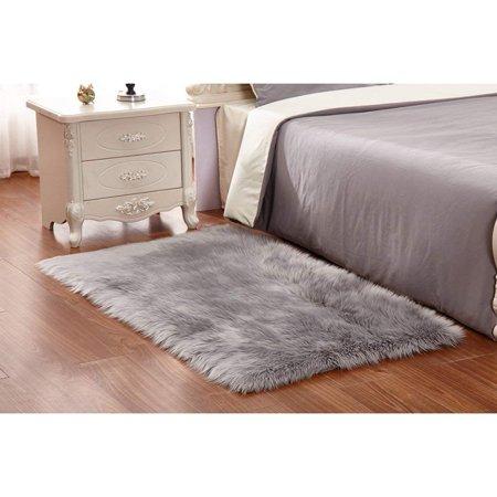 Wendana Faux Fur Rug 60 X 90 Cm Soft Fluffy Rug Shaggy