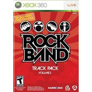 Rock Band Track Pk Vol2 Xbox 360, Game supports 2-4 players in co-op or competitive gameplay with guitar, drum kit and microphone controllers, and.., By by MTV Games