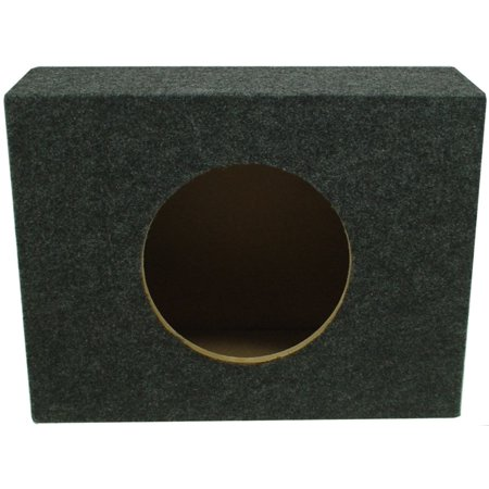 Single 12 Stereo Reg Cab Truck Subwoofer Sealed Enclosure Stereo Bass Sub Box
