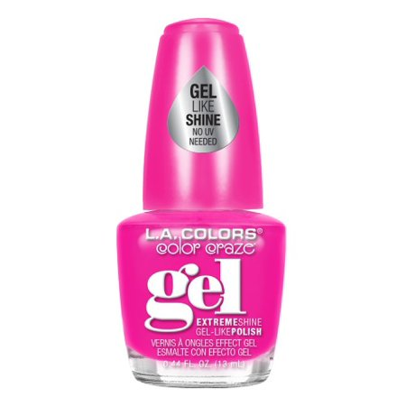 Gel Nails Halloween Ideas (LA Colors Gel Shine Nail Polish, Untamed, 0.44)