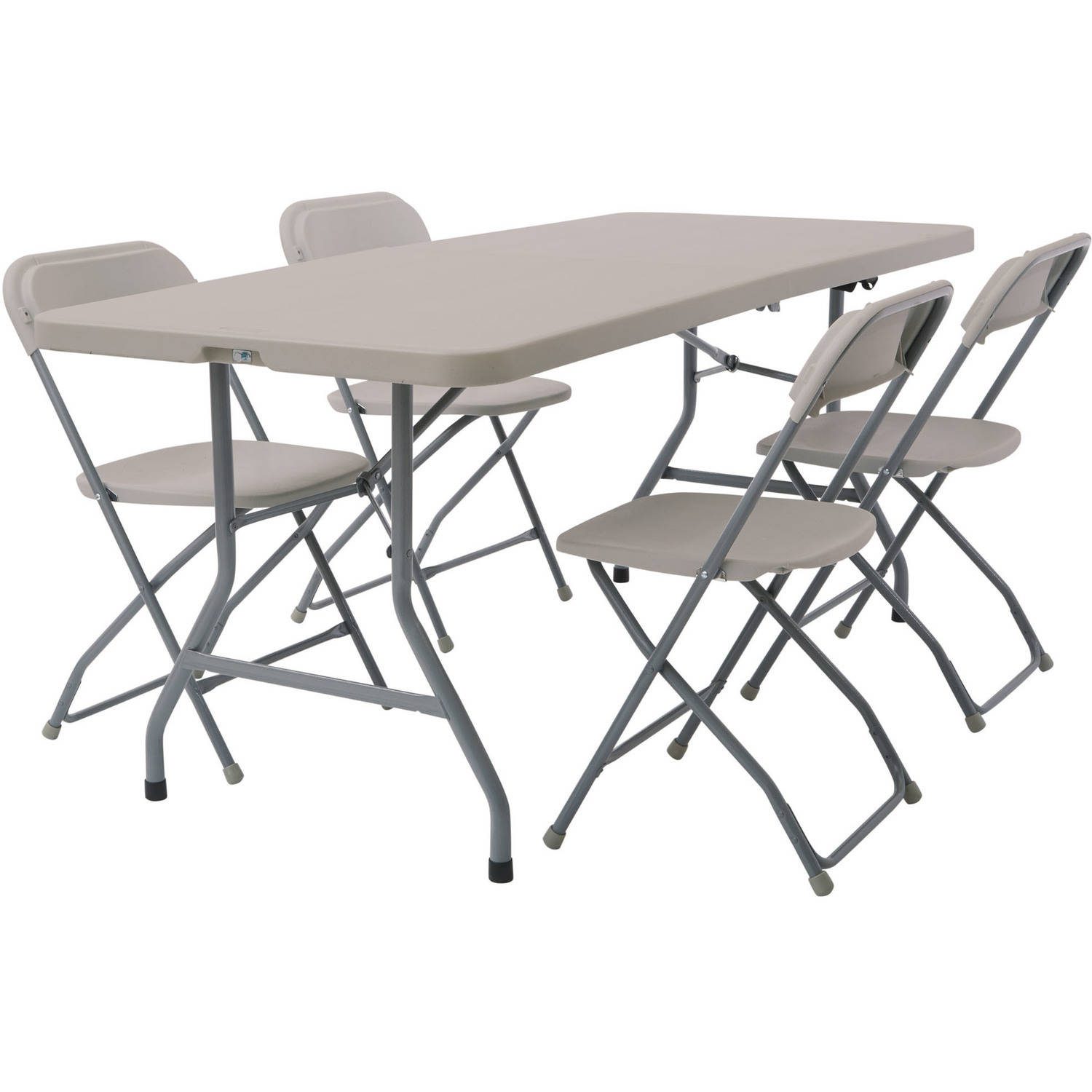 5-Piece Folding Set, Four Chairs and Table
