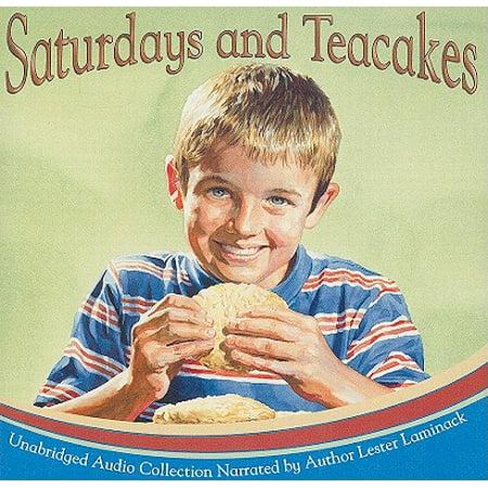 Saturdays and Teacakes (Best Green Tea Cake)