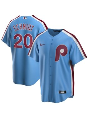 Mike Schmidt Philadelphia Phillies Nike Road Cooperstown Collection Replica Player Jersey - Light Blue