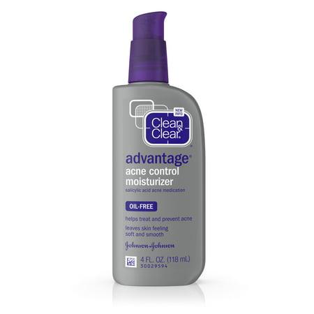 Clean   Clear Advantage Acne Control Moisturizer  4 Oz