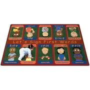 Joy Carpets First Signs Kids Area Rug