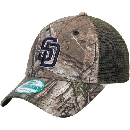 San Diego Padres New Era Trucker 9FORTY Adjustable Hat - Realtree Camo -  OSFA - Walmart.com e35fc484a50
