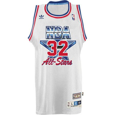 Utah Jazz Adidas NBA Karl Malone #32 1993 All Star Swingman Jersey (White) by