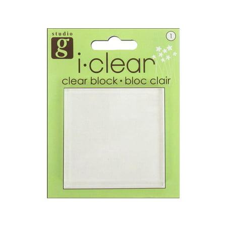 Studio G Clear Stamp Block 2.5x2.5 - Studio G Halloween Clear Stamps