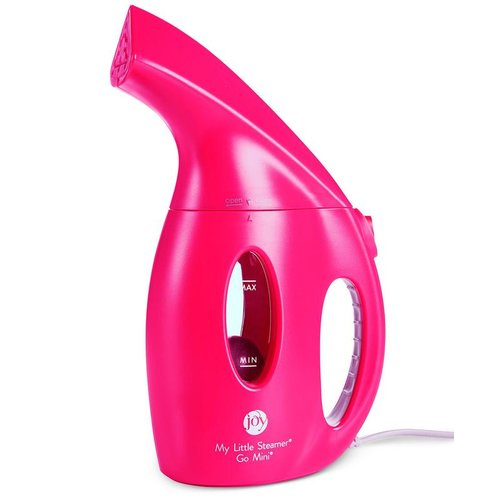 Joy Mangano My Little Steamer Go Mini, Fuchsia