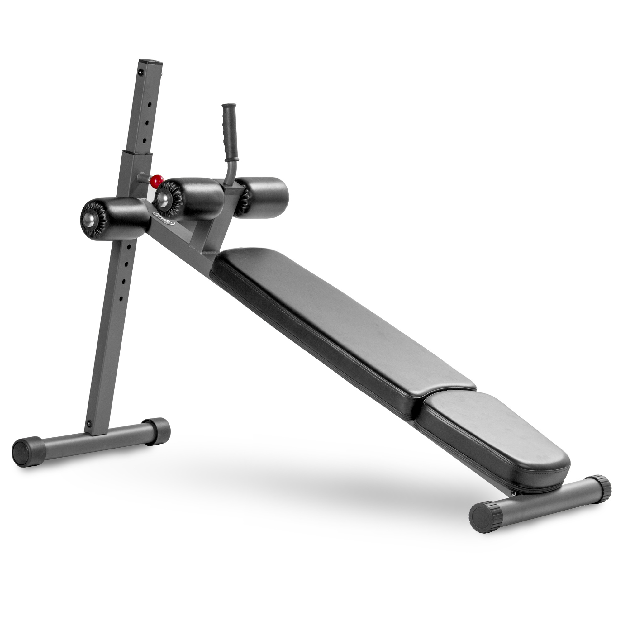 XMark Fitness Adjustable Ab Bench 12 Position Adjustment Duracraft Duraguard, As Shown