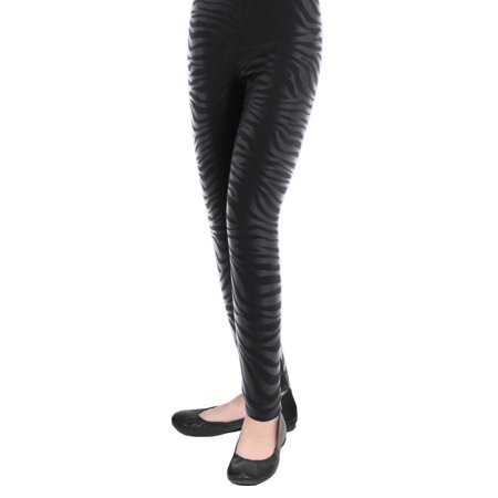 ff19bf1f19cf4 MeMoi - MeMoi Girls Zebra Leggings | Buy Girls Leggings by MeMoi 7--10 /  Black MKB 015 - Walmart.com