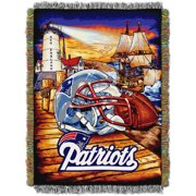 "NFL 48"" x 60"" Tapestry Throw Home Field Advantage Series- Patriots by Generic"