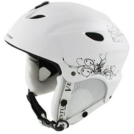 White Skiing/Snowboarding Children's Helmet S (52-55 cm)