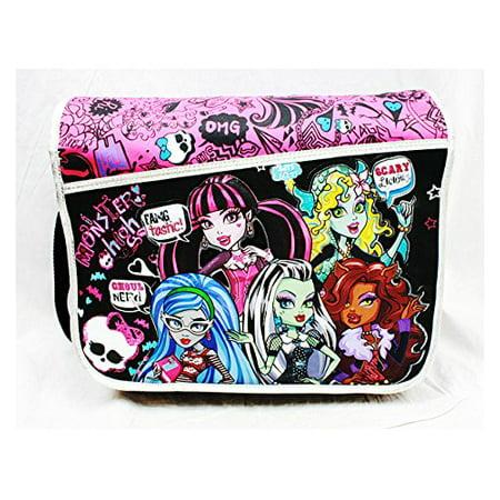 Messenger Bag - Monster High - Scary School Bag Girls New Anime mh20761 for $<!---->