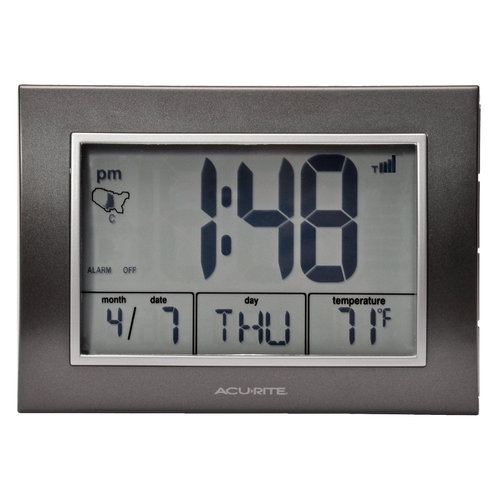 AcuRite Atomic Desk Clock by Generic