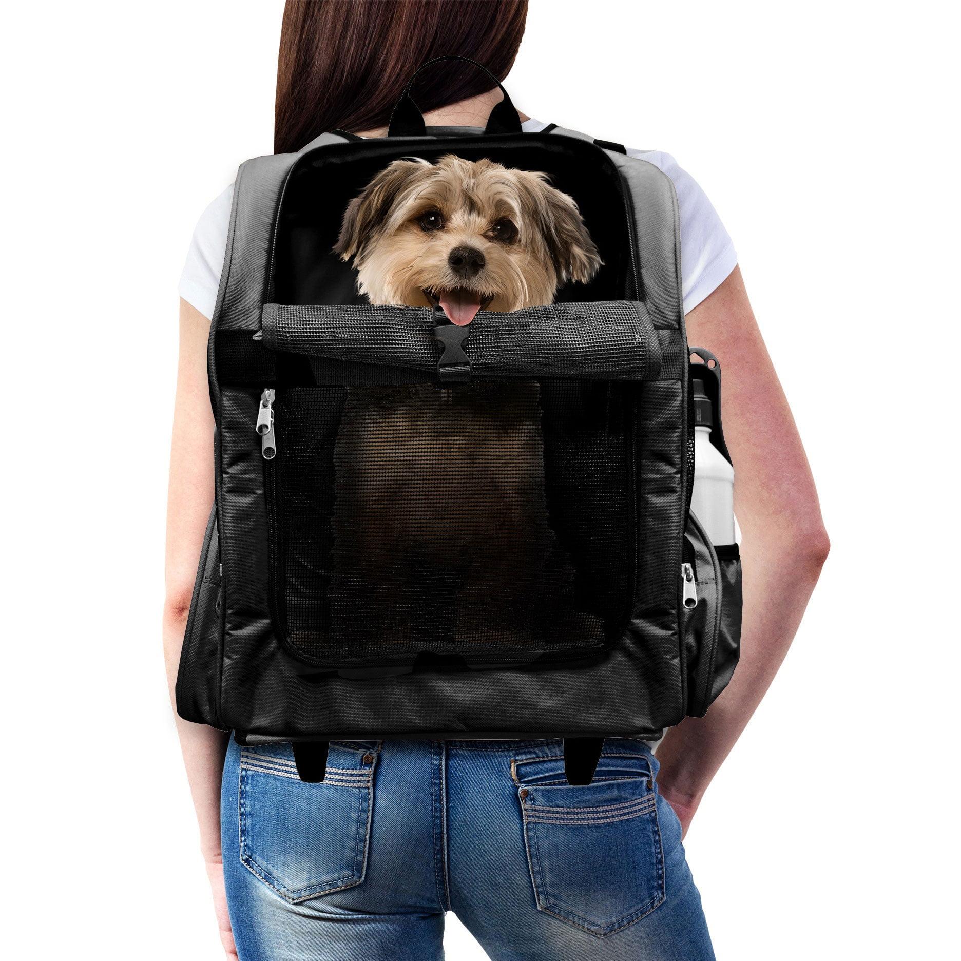 FurHaven Pet Backpack-Roller Carrier Travel Pet Carrier Dog Carrier by FurHaven Pet Products