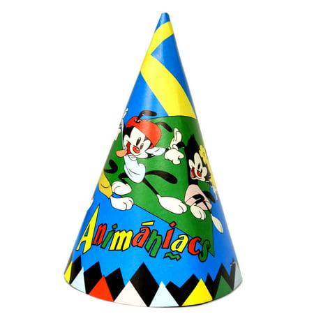 Animaniacs Vintage 1993 Cone Hats (8ct)