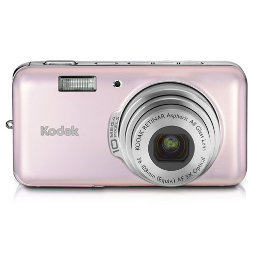 Kodak Easyshare V1003 10 MP Digital Camera with 3xOptical Zoom (Pink Rose) by Kodak