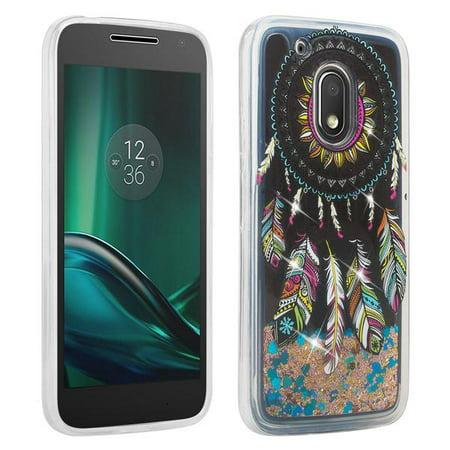 finest selection 07cc1 7ffc0 Glitter Cute Phone Case Motorola Moto G Play/Moto G4 Play (2016)  Case,Liquid Glitter Waterfall Quicksand Soft Shock Proof Bling Bumper Cover  Girls - ...