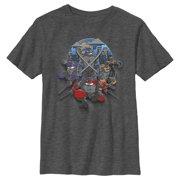 Teenage Mutant Ninja Turtles Boys' Shadow Heroes T-Shirt