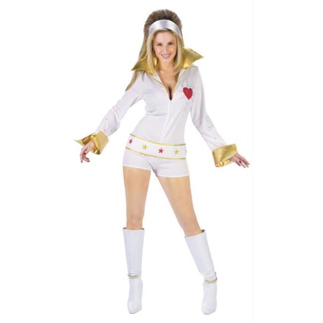 Morris Costumes FW101104SD Elvis Female Jumpsuit Small-Me...