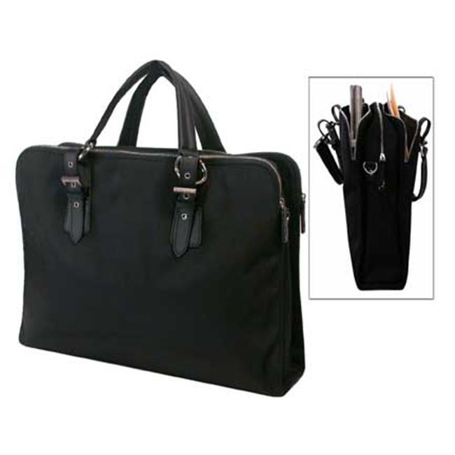 Bond Street 465744BLK Ladies Black Computer Handbag Briefcase