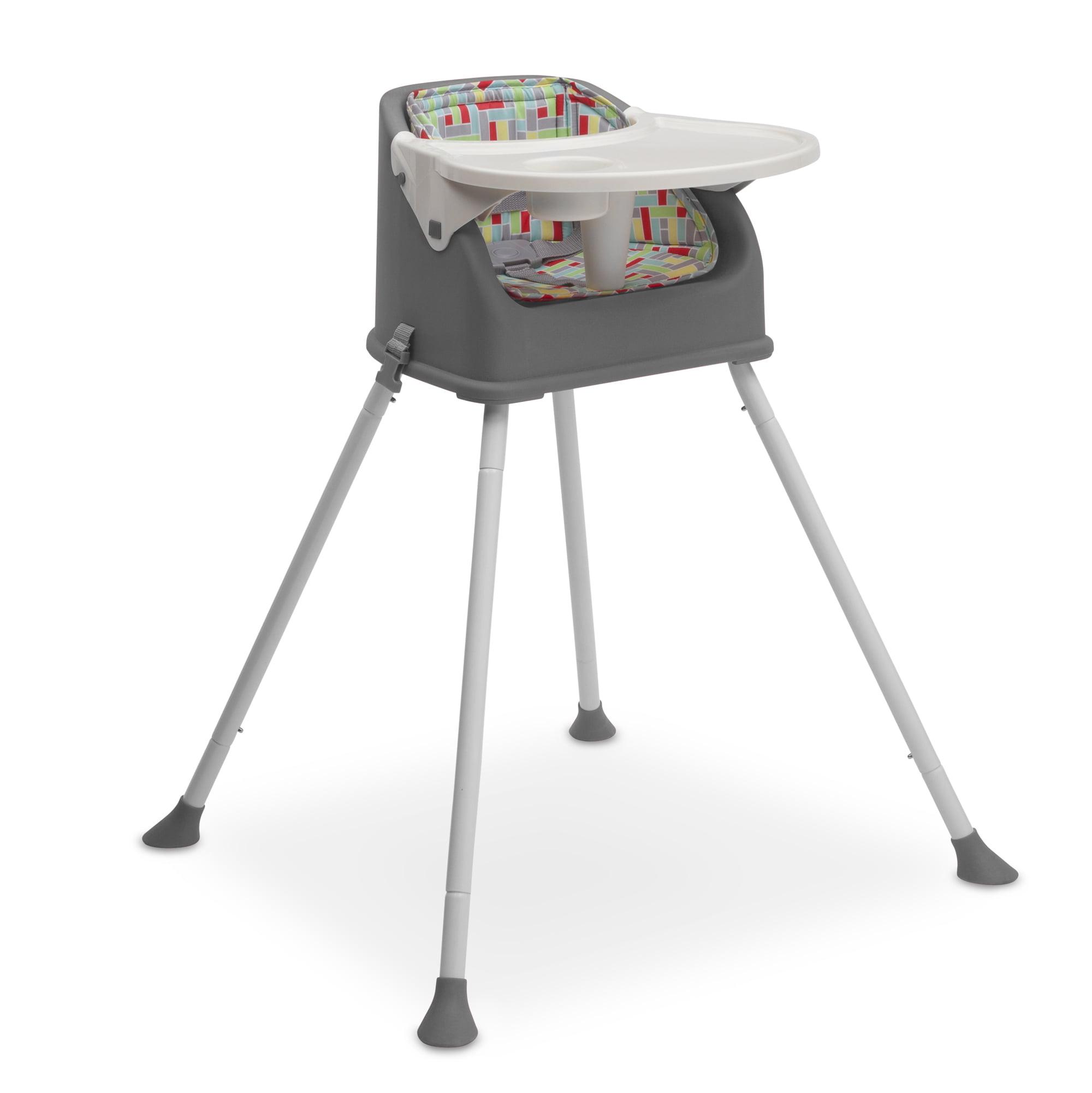 Delta Children Perfect Fit Multi-Use High Chair, Grey by Delta Children