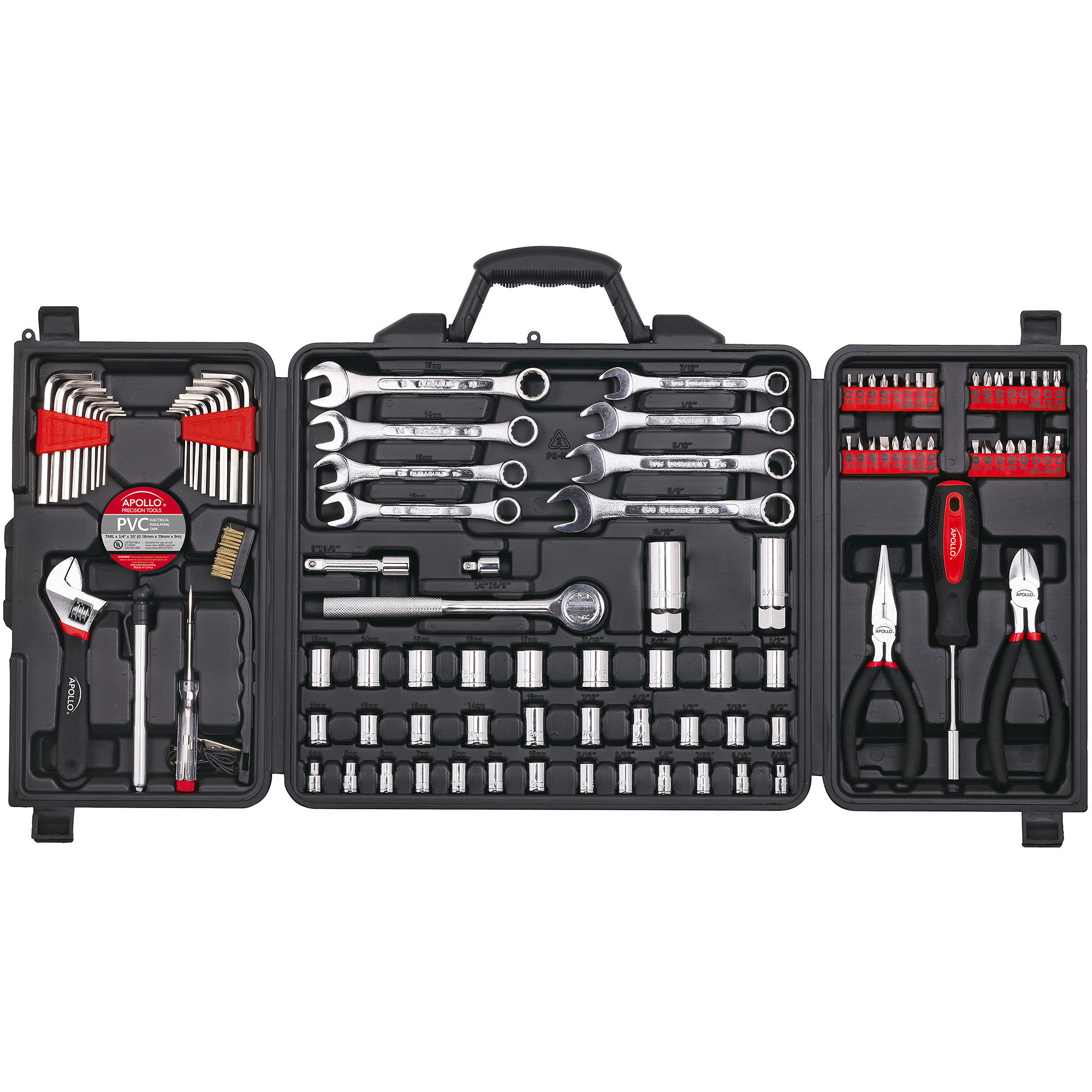 Apollo Tools 101-Piece Mechanics Tool Set