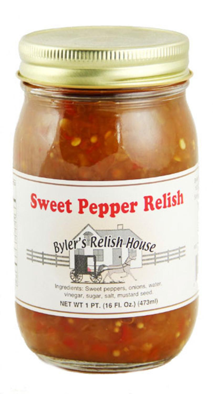 Byler's Relish House Homemade Amish Country Sweet Pepper Relish 16 oz. by Byler's Relish House