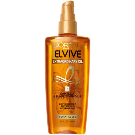 L'Oreal Paris Elvive Extraordinary Oil Deep Nourishing Treatment Serum, 3.4 fl. oz.