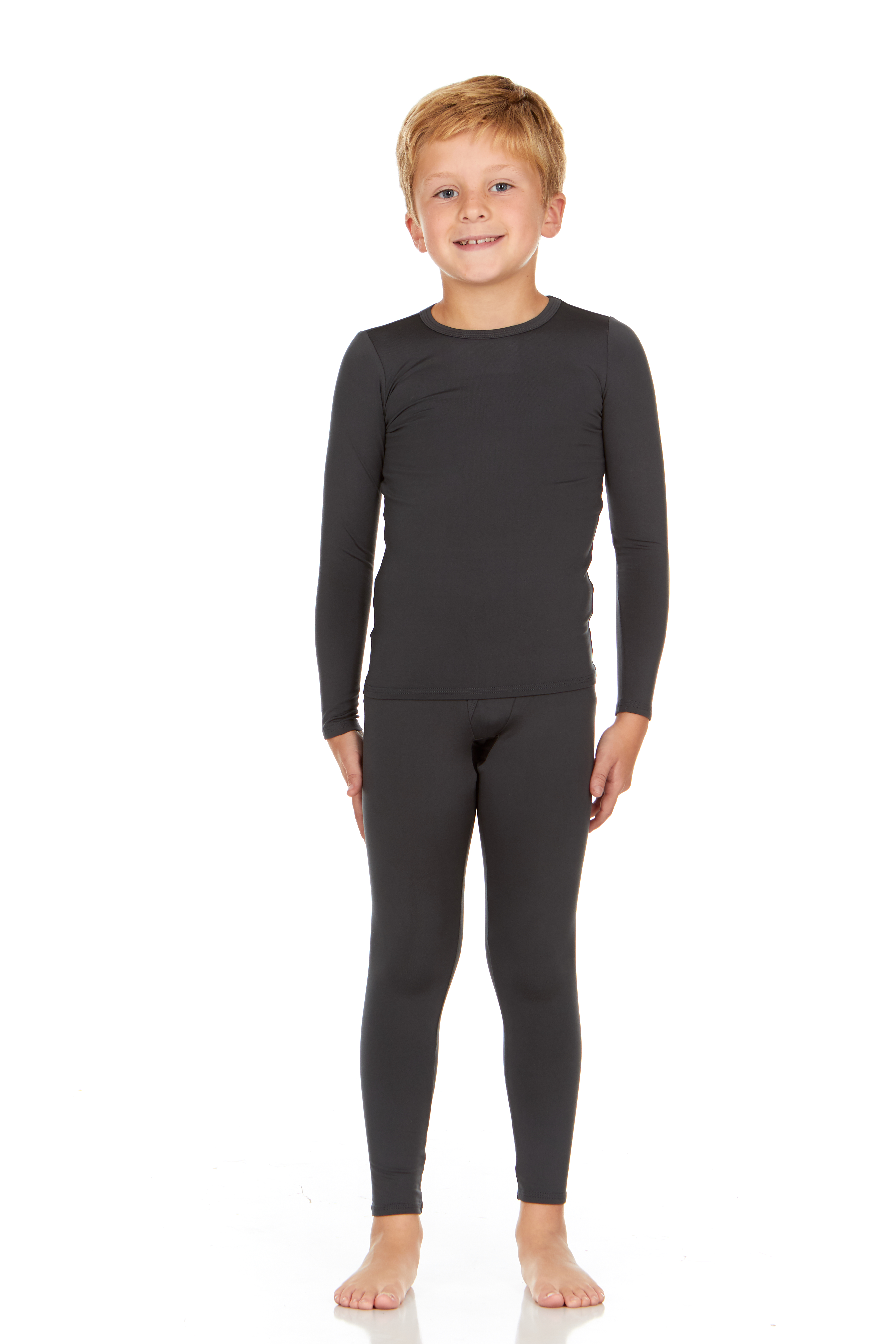 Thermajohn Boys Ultra Soft Thermal Underwear Long Johns Set with Fleece Lined