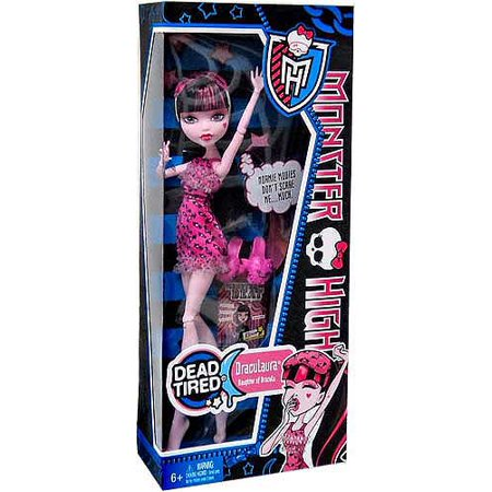Monster High Dead Tired Draculaura 10.5