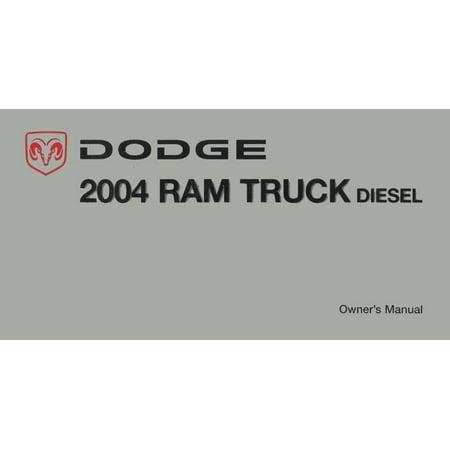 Bishko OEM Maintenance Owner's Manual Bound for Dodge Truck Ram - Diesel -