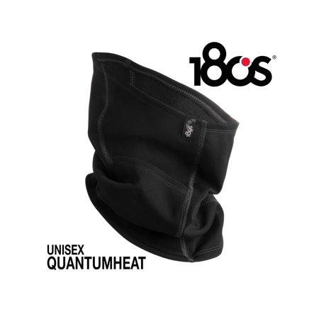 180s Brand Thermal Shiver Neck Gaiter Face Warmer Black For Running Skiing Men Women Unisex