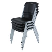 Lifetime Stacking Chair - 4 Pk (Commercial), 480310