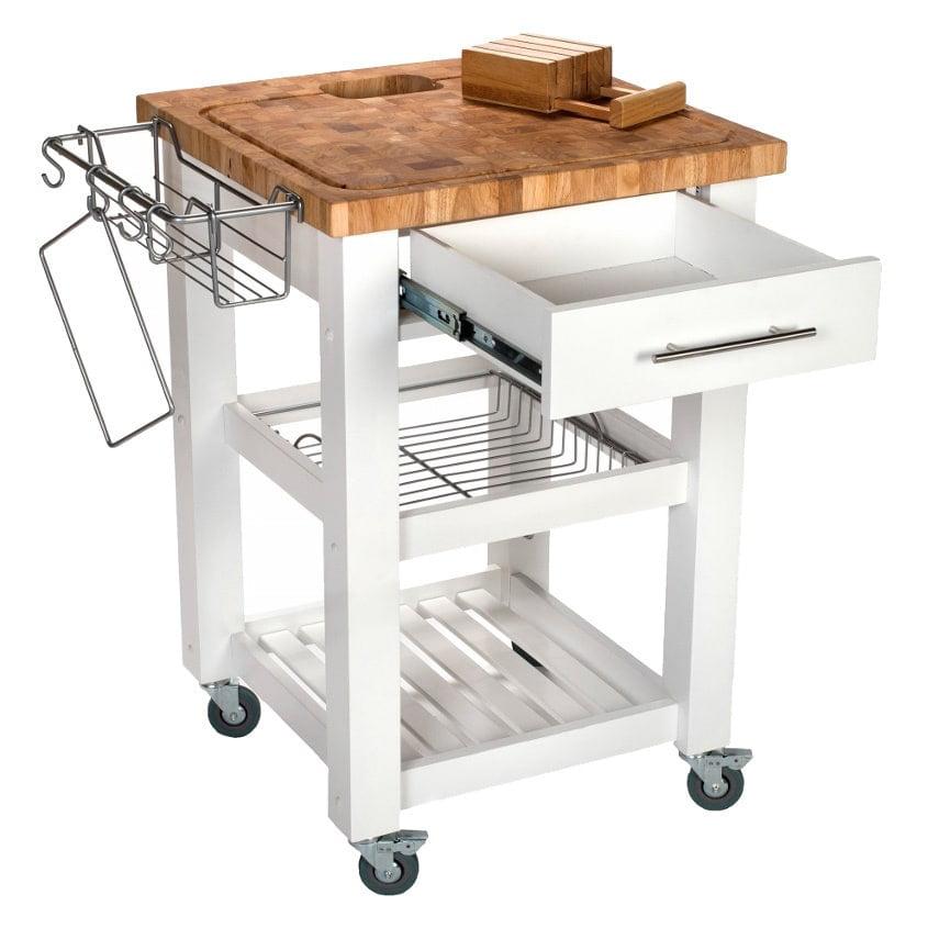Chris Pro Chef Kitchen Cart