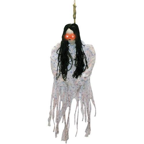 3' Hanging Skeleton In Pj's Halloween Decoration