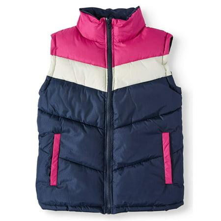 Colorblock Puffer Vest (Little Girls & Big Girls)