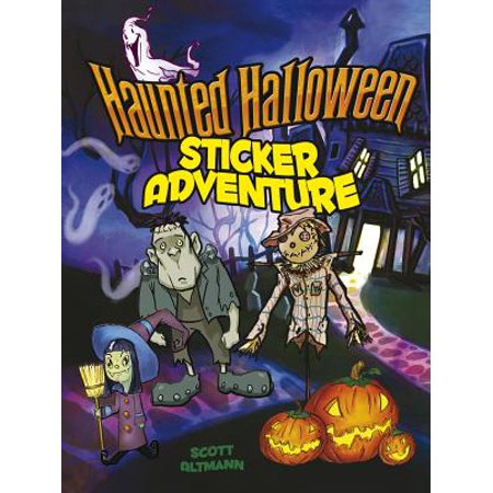 Haunted Halloween Sticker Adventure (Haunted Poems Halloween)