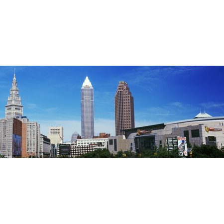 Skyscrapers in a city Cleveland Ohio USA Poster Print by Panoramic - Party City Cleveland