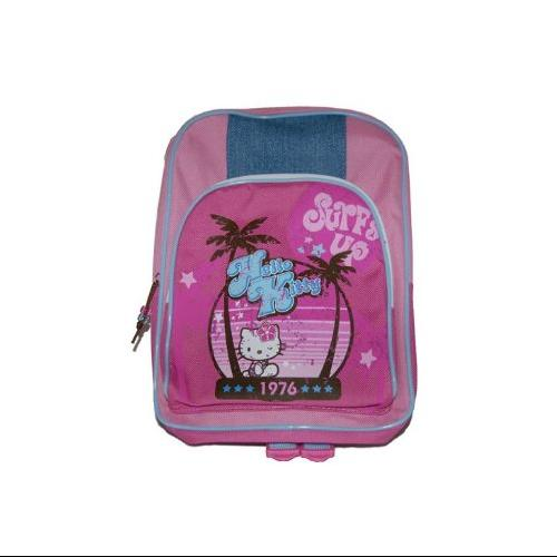 Surfs Up Beach Hello Kitty Youth Kids Backpack