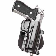 "FOBUS ROTO BELT HOLSTER FITS UP TO 2.25"" BELTS BLACK PLASTIC"