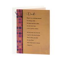 Hallmark Birthday Card for Dad (No Training Manual)
