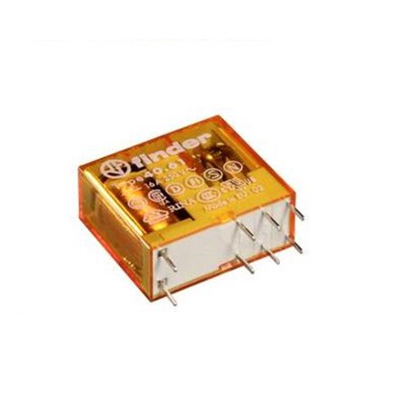 Pcb Relay (04M7649 Finder 40.61.8.240.0000 Power Relay, Miniature, Spdt-Co, 240Vac, Pcb )